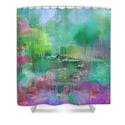 Beautiful Giverny Shower Curtain