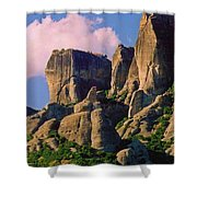 Beautiful Greece Landscape Shower Curtain