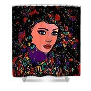 Beautiful Gypsy Shower Curtain