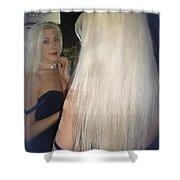 Beautiful Hair Shower Curtain