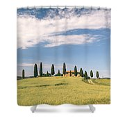 Beautiful House In Val D'orcia - Tuscany - Italy Shower Curtain