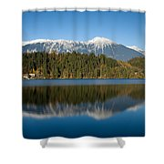 Beautiful Lake Bled Shower Curtain