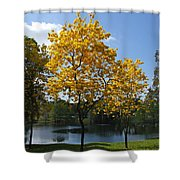 Beautiful Lake Como Shower Curtain