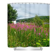 Beautiful Lochaline Landscape Shower Curtain