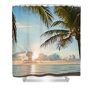 Beautiful Morning In Ft. Lauderdale Florida Shower Curtain