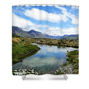 Beautiful New Zealand Shower Curtain