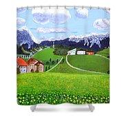 Beautiful Norway Shower Curtain