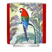 Beautiful Parrot For Someone Special Shower Curtain