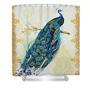 Beautiful Peacock-a Shower Curtain