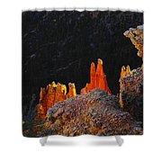 Beautiful Pinnacles At Bryce Canyon Shower Curtain