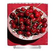 Beautiful Prosser Cherries Shower Curtain