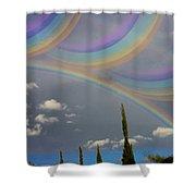 Beautiful Rainbows Shower Curtain
