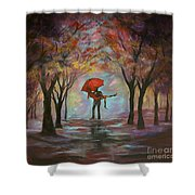 Beautiful Romance Shower Curtain
