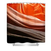 Beautiful Sandstone Layers Shower Curtain