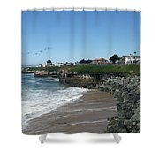 Beautiful Santa Cruz Coast Shower Curtain