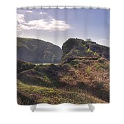 Beautiful  Sark One Of The  Channel Islands Shower Curtain