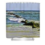 Beautiful Sea Shower Curtain