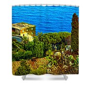 Beautiful Sicily Shower Curtain