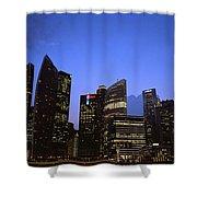 Beautiful Singapore Shower Curtain