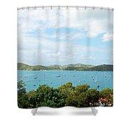 Beautiful St Thomas Shower Curtain