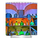 Beautiful Still Life Digital Art Shower Curtain