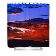 Beautiful Sunrise In Boise Shower Curtain