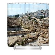 Beautiful Taybeh Village Shower Curtain
