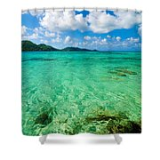 Beautiful Turquoise Water Shower Curtain