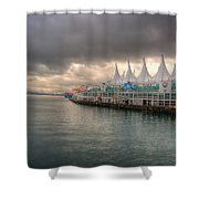 Beautiful Vancouver Shower Curtain