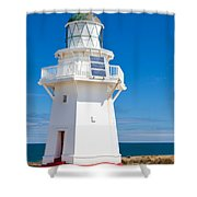 Beautiful Wairapa Point Lighthouse The Catlins Nz Shower Curtain