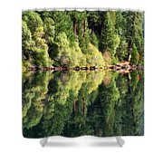 Beautiful Water Shower Curtain