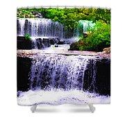 Beautiful Waterfall Shower Curtain