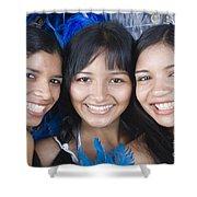 Beautiful Women Of Brazil 10 Shower Curtain