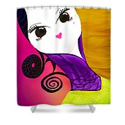 Beauty 1.0 Shower Curtain