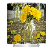 Beauty Among The Weeds Shower Curtain