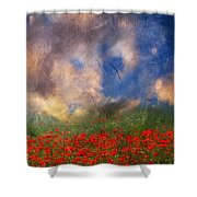 Beauty And The Beast Of Nature Shower Curtain