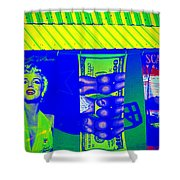Beauty Buns And Scars Shower Curtain
