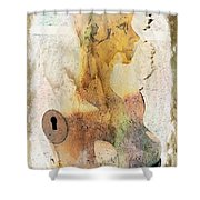 Beauty Contained Shower Curtain