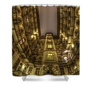 Beauty From Within The Other Side Shower Curtain