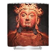 Beauty In Clay Shower Curtain