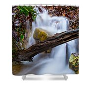 Stream At Sundown Shower Curtain by Parker Cunningham