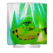 Beauty Is In The Eye Of The Beholder Shower Curtain