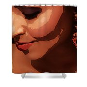 Beauty - Ladies - Poster Shower Curtain