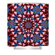 Beauty Of Aruba Kaleidoscope Shower Curtain