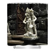 Beauty Of Bali Indonesia Statues 1 Shower Curtain