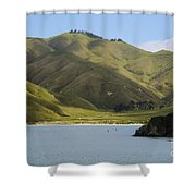Beauty Of Cook Strait Shower Curtain
