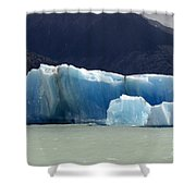 Beauty Of Icebergs Patagonia 6 Shower Curtain