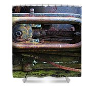 Beauty Of Rust 4 Shower Curtain