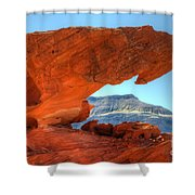 Beauty Of Sandstone Little Finland Shower Curtain by Bob Christopher