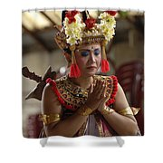 Beauty Of The Barong Dance 1 Shower Curtain